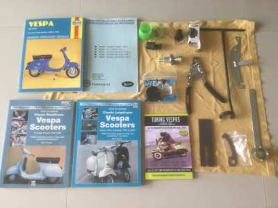 Special engine tools and manuals for early 1970s Vespas