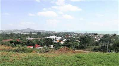 For sale sea view land in Choeng Mon Koh Samui - 5.240 sqm