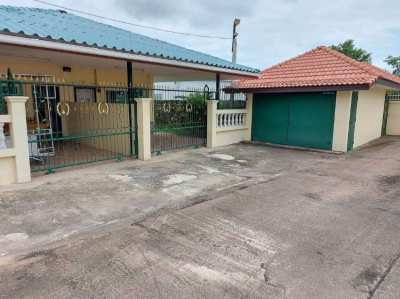 2 semi detached units under one roof. with garage.