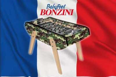 Babyfoot Bonzini B90 – Camouflage– Foosball Table