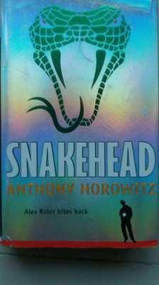 NEW YEAR SALE! Snakehead - Anthony Horowitz - Alex Rider Bites Back