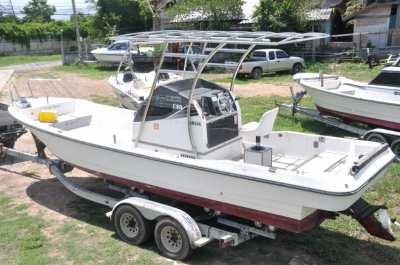 ขาย เรือประมง yamaha ตัวใหม่ๆ ทันสมัยสุดๆ 25ฟุต ใหม่กว่า YDX ค