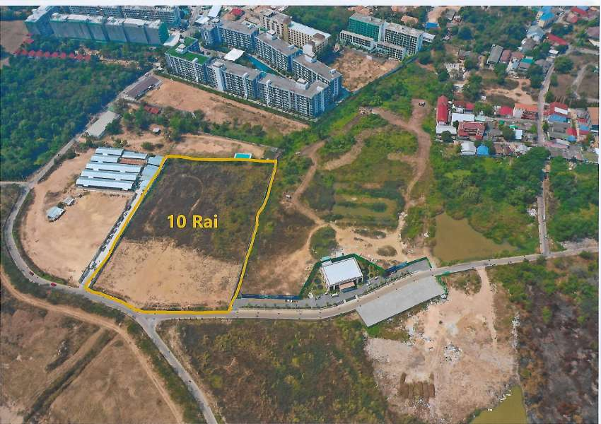 LAND 10 RAI JOMTIEN/PATTAYA Prime Location
