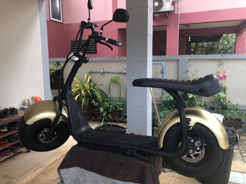 Heavily discounted Now only 25000 Electric Fatboy Chopper.