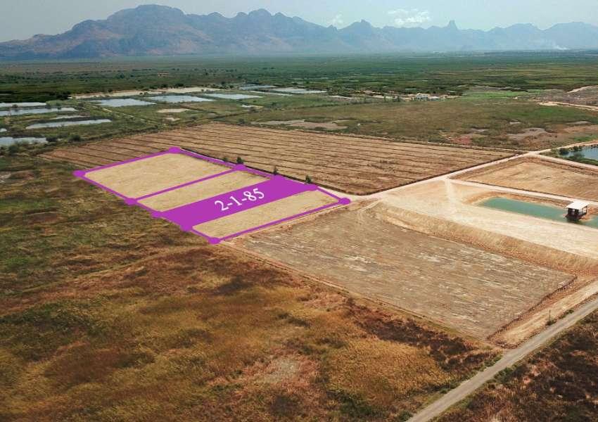 Land 2 rai 185 t.w. for sale in Nong Khang – Sam roi yot
