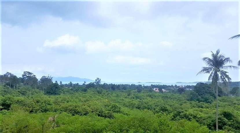 For sale sea view land in Bophut Koh Samui - 24.000 sqm
