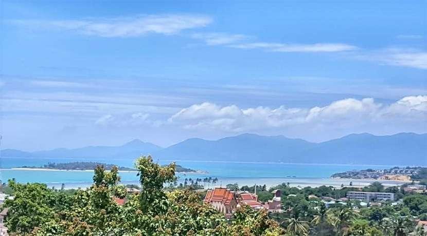 Sea view land for sale in Plai Laem Koh Samui