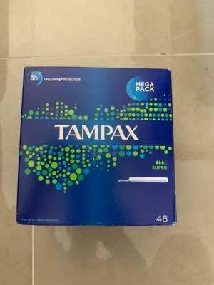 Tampax Super Mega Pack 48