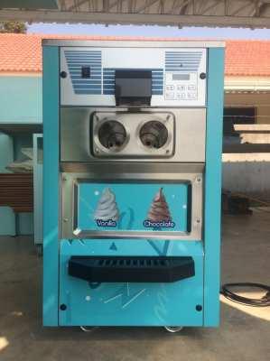 Spaceman Soft Serve Ice Cream Machine + Free Ice Cream