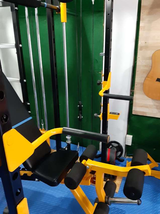 Price reduced !!  58,000   or best offer   gym quality Gym set -