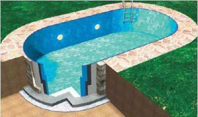 Steelwall Liner Swimming Pool, XL, On Sale