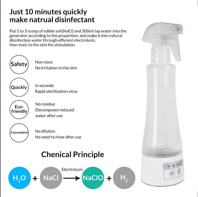 Hypochlorous Acid - เครื่องผลิตนํ้ายาฆ่าเชื้อไวรัส