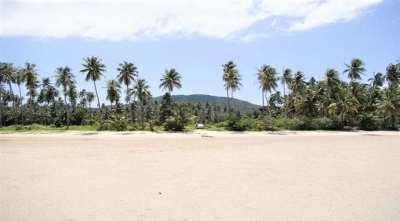 For sale land in Bang Kao Koh Samui 80 m from the beach