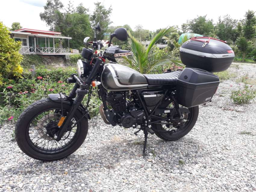 Late 2019 Legend motorcycle