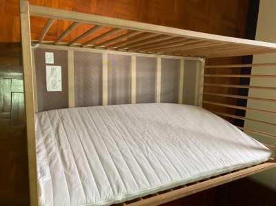 Ikea baby bed cot