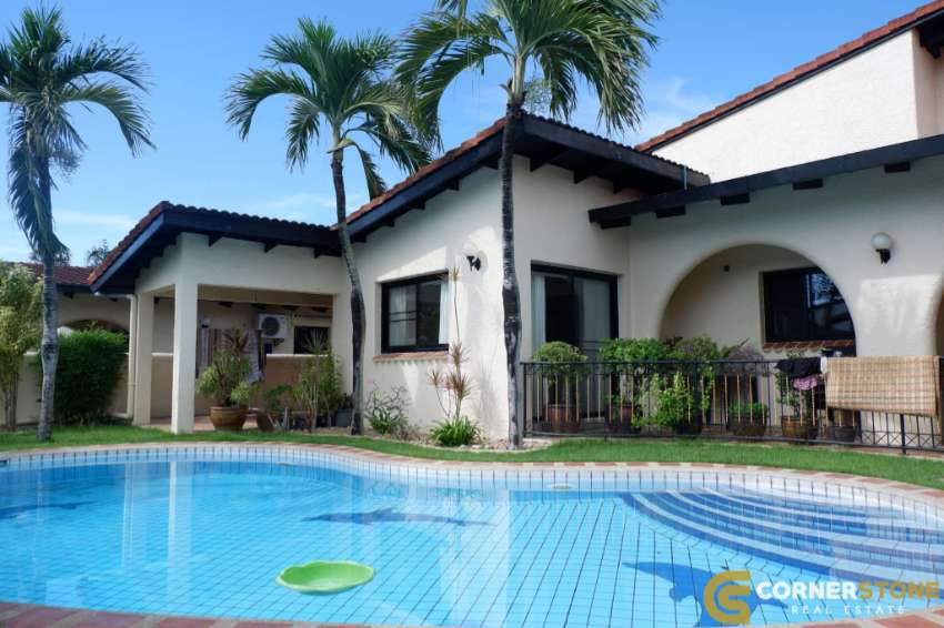 #HR1711  Private Pool 3Bed 3Bath  @Nateekarn Park view For Rent