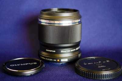 Two 30mm Macro lenses for micro 4/3 Olympus and Panasonic