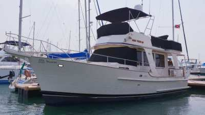SAVE $$$$$$ , PRICE REDUCED-ISLAND GYPSY  36   A FUEL FRENDLY TRAWLER