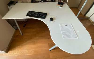 Office table Galant from IKEA, very big surface