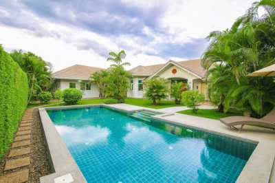 SPACIOUS 4 BEDROOM SINGLE STOREY POOL VILLA