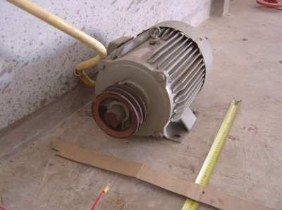 Electric Motor 3 Phase  7.5Hp