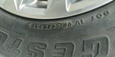 245/65/17 on Mitsubishi Triton wheels, 45/14