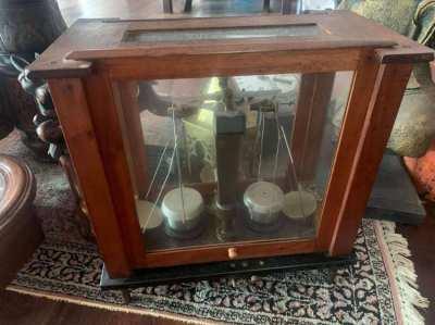 Antique pharmacy scale