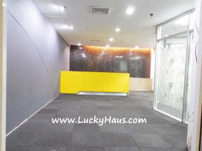Office space renting @ cheap rental Sukhumvit Phrompong BTS, 162 Sq.m.