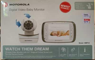 Motorola Digital Video Baby Monitor