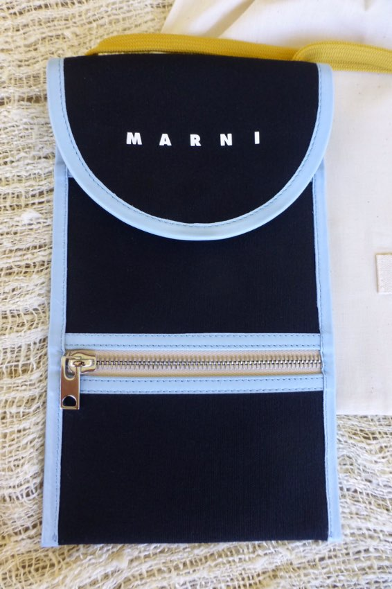 Stunning Marni Limited Edition Cross Body Pouch