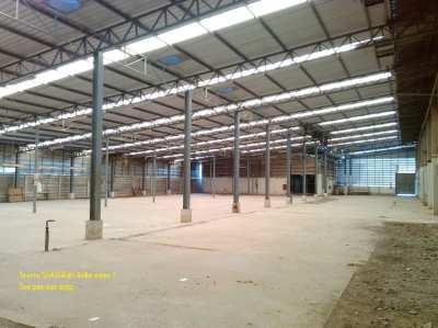 0290 Warehouse For Sale & Rent 6,583 sq.m. at Rangsit Klong7
