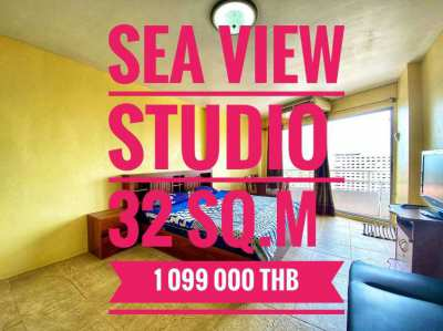 Studio with sea view and good location. ‼️Include all fees‼️