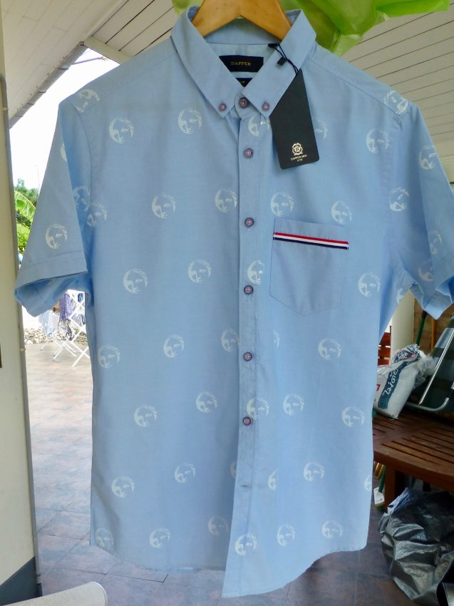 BRAND NEW SHIRT BY DAPPER …. .. SIZE 4