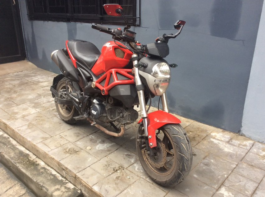 Sale GPX demon , 2016 , good condition , 11.500 bahts , Pattaya