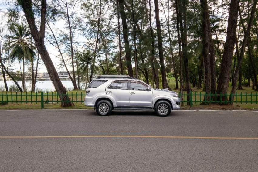 2012 Toyota fortuner 3.0 v suv at 50th anniversary