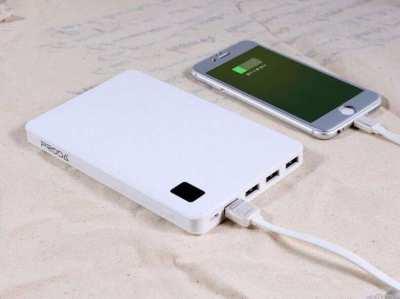30,000 mAh Mega Capacity POWER BANK Charge 4 Devices At The Same Time