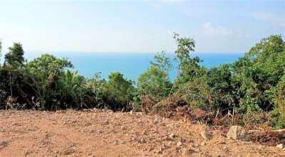 For sale sea view land in Ban Tai Koh Samui - 10 rai - 20 rai