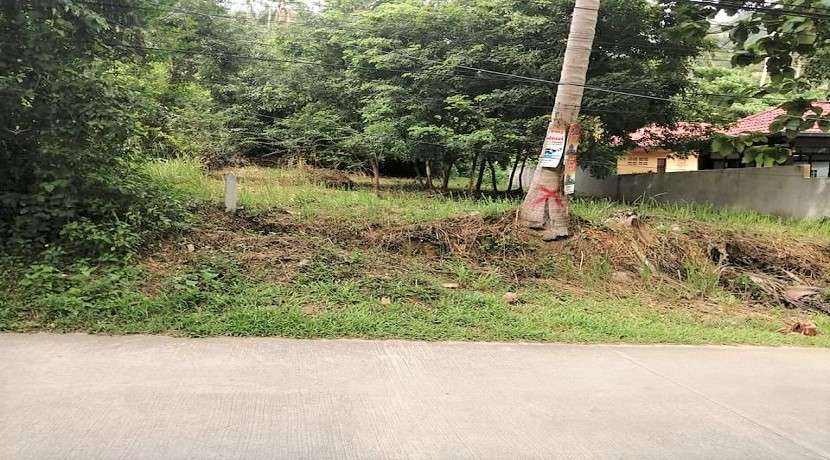 For sale land in the center of Lamai in Koh Samui