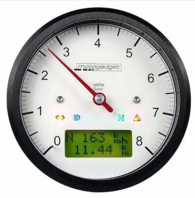 Motogadget Motoscope Classic Tachometer Guage