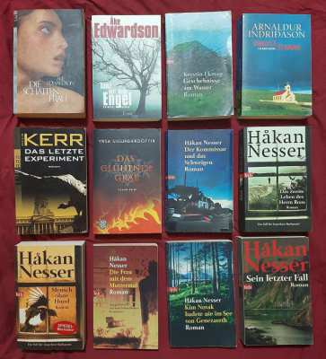 Deutsche - German Language Crime Novels - Buy 5, and the 6th is free!