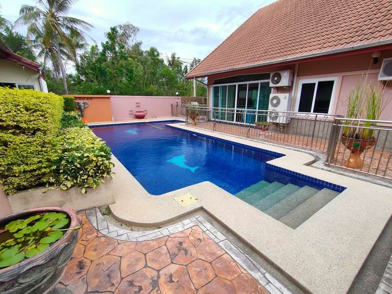 Furnished Two Floor 4 BR 4 Bath Pool Villa Excellent Location