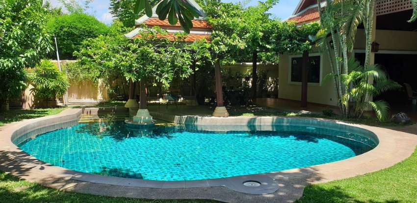 BEAUTIFUL THAI BALI POOL VILLA FOR SALE IN ULTRA QUIET RURAL POSITION