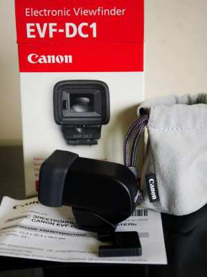 Canon EVF-DC1 Electronic Viewfinder for Canon EOS M3 M6 G1X Mark 2 G3X