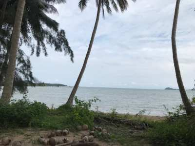 Beachfront land for sale in Chumphon