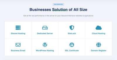 Web Hosting, Domain Registration and more...