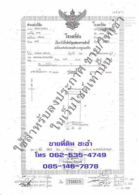 Land for sale and rent in Cha-am - Hua Hin, Petchburi.