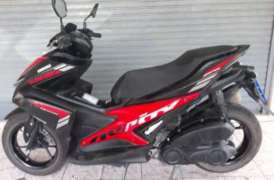 RENT Yamaha Aerox 155cc only 2500 ฿ per Month