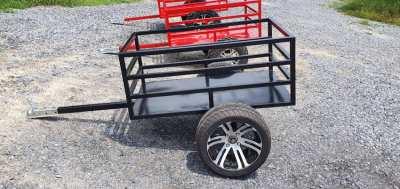 Atv trailer with alloys New