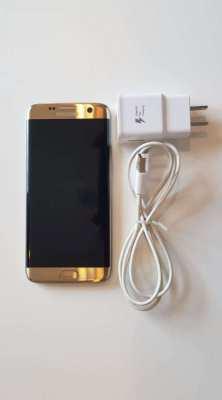 Gold Samsung S7 Edge - 32GB - dual-SIM