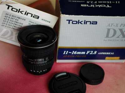 Tokina 11-16mm f/2.8 Pro DX Lens in box for Nikon cameras